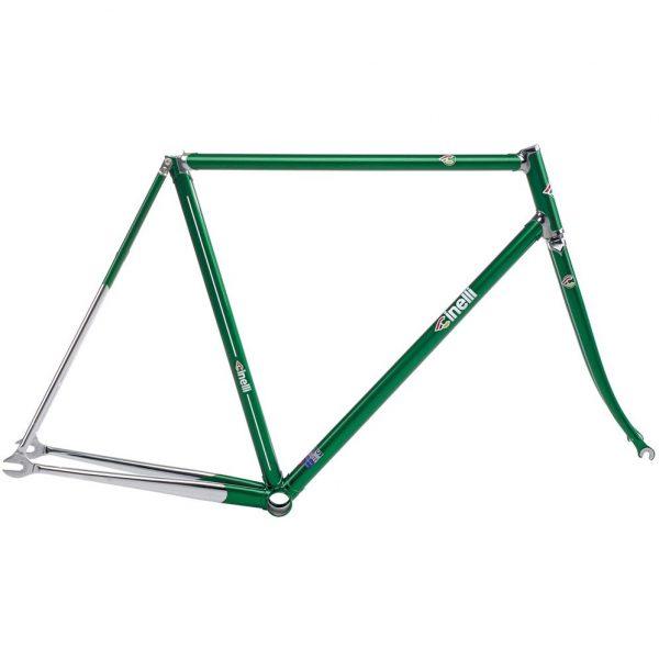 Cinelli 2018 Supercorsa Pista Frame Set Groen-0