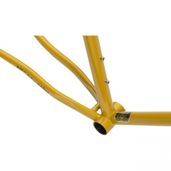 Surly Steamroller Track Frame Kit 700C Yellow-6804