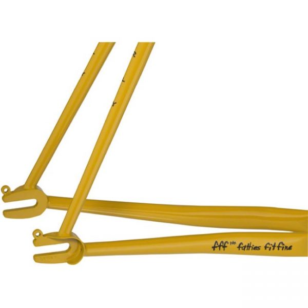 Surly Steamroller Track Frame Kit 700C Yellow-6805