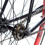 Quella Fixed Gear Bike Nero – Red-7019