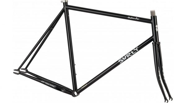 Surly Steamroller Track Frame Kit 700C Zwart-0