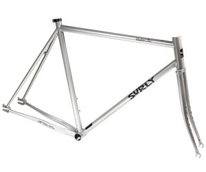 Surly Steamroller Track Frame Kit 700C Grijs-0