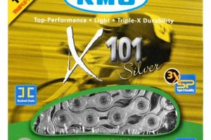 KMC singlespeed X101 ketting-0