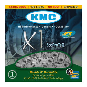 KMC Ecoproteq singlespeed X1 ketting-0