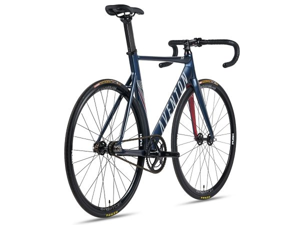 Aventon Mataro 2018 Fixed Gear Bike - Midnight Blue-7419