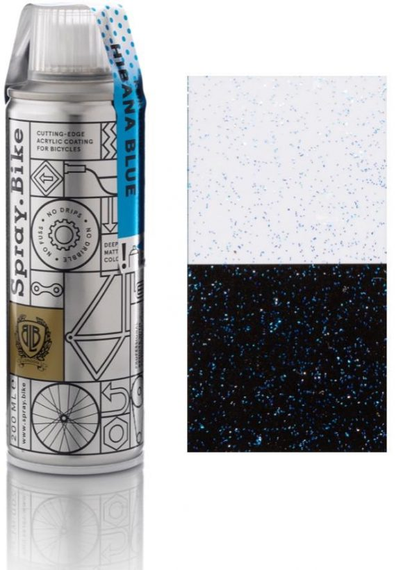 Spray.bike Fiets Verf Keirin Flake Collectie - Hibana Blue-0
