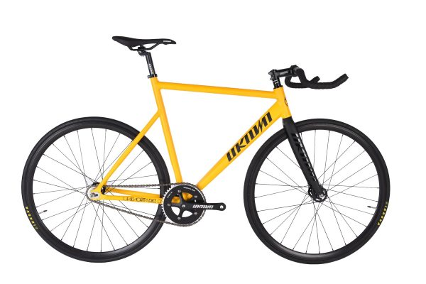 Unknown Bikes Fixie Fiets PS1 – Geel-0