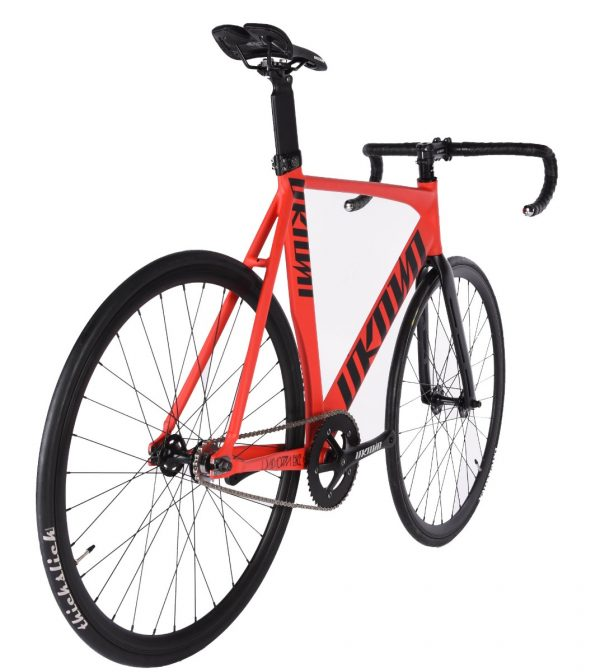 Unknown Bikes Fixed Gear Bike Singularity – Red-7482