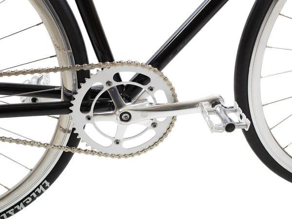 BLB City Classic Fixie & Single-speed Bike - Black-7966