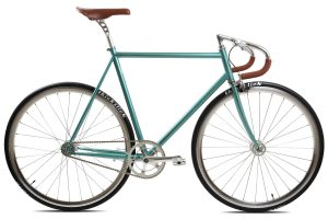 BLB City Classic Fixie & Single-speed Fiets - Groen-0
