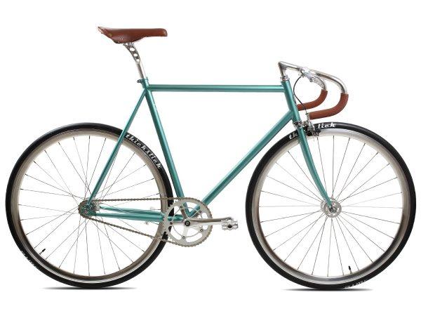 BLB City Classic Fixie & Single-speed Fiets - Groen-0