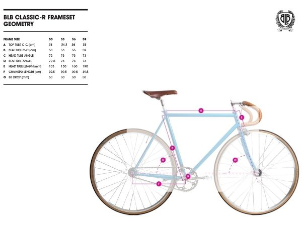 BLB City Classic Fixie & Single-speed Bike - Champagne-7980