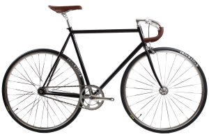 BLB City Classic Fixie & Single-speed Fiets - Zwart-0