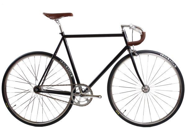 BLB City Classic Fixie & Single-speed Fiets - Zwart-0
