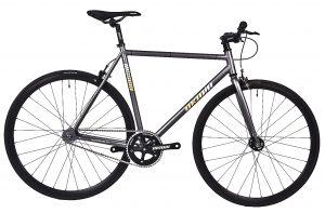 Unknown Bikes Fixie 4130 Fiets SC-1 - Grijs-0