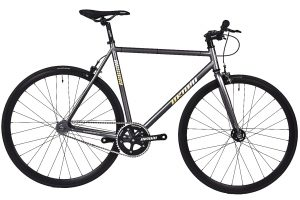 Unknown Bikes Fixed Gear Bike SC-1 - Gray -0