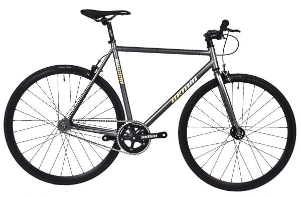 Unknown Bikes Fixed Gear Bike SC-1 - Gray -0