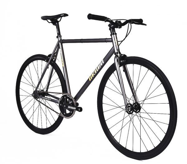 Unknown Bikes Fixed Gear Bike SC-1 - Gray -7959