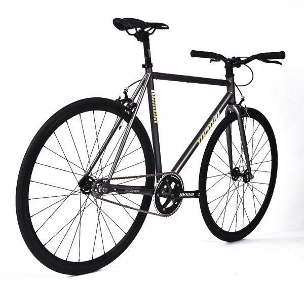 Unknown Bikes Fixed Gear Bike SC-1 - Gray -7960
