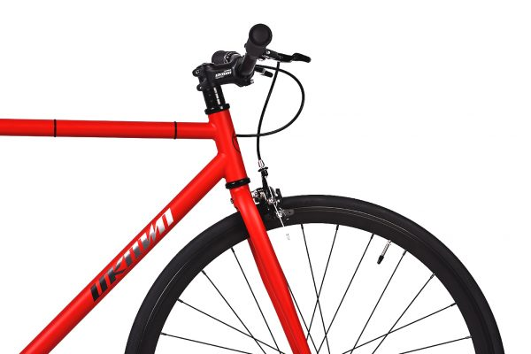 Unknown Bikes Fixed Gear Bike SC-1 - Red -7948