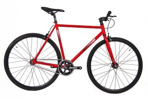 Unknown Bikes Fixie 4130 Fiets SC-1 - Rood-0