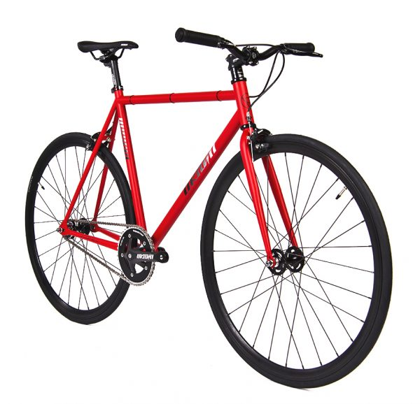 Unknown Bikes Fixed Gear Bike SC-1 - Red -7949