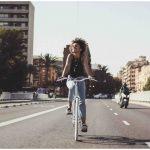 Fabric City Ladies Bike Stockey-11333