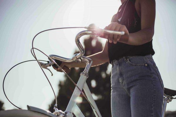 Fabric City Ladies Bike Stockey-11335