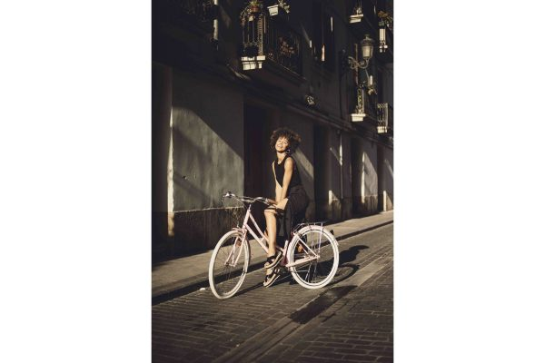 Fabric City Ladies Bike Stockey-11336
