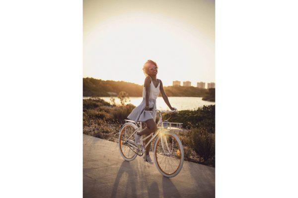 Fabric City Ladies Bike Stockey-11338