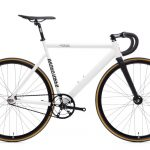 State Bicycle Co. Fixie Fiets Black Label v2 Pearl White-0