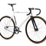 State Bicycle Co. Fixed Gear Bicycle Black Label v2 Pearl White-11280