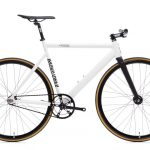 State Bicycle Co. Fixed Gear Bicycle Black Label v2 Pearl White-11286