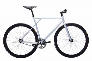 Poloandbike Fixie Fiets CMNDR 2018 CG2 - Zilver-0