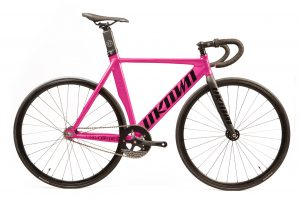 Unknown Bikes Fixie Fiets Singularity - Roze-0