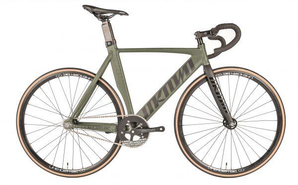 Unknown Bikes Fixed Gear Bike Singularity – Army Green