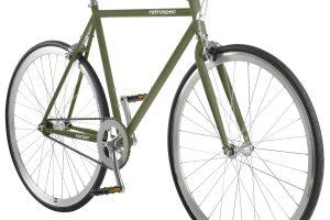 Retrospec Harper Fixie & Singlespeed Bike - Olive